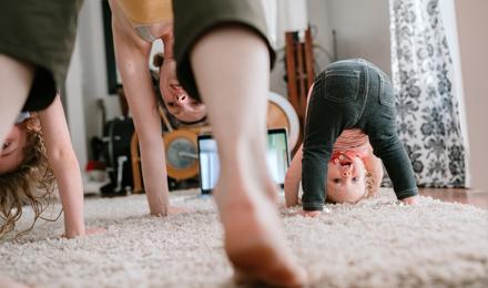 Yoga para niños: posturas animales
