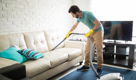 Limpiar Sofa