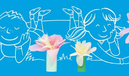 Como Hacer Flores De Papel