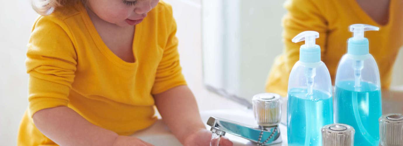 Hábitos de higiene personal en el hogar