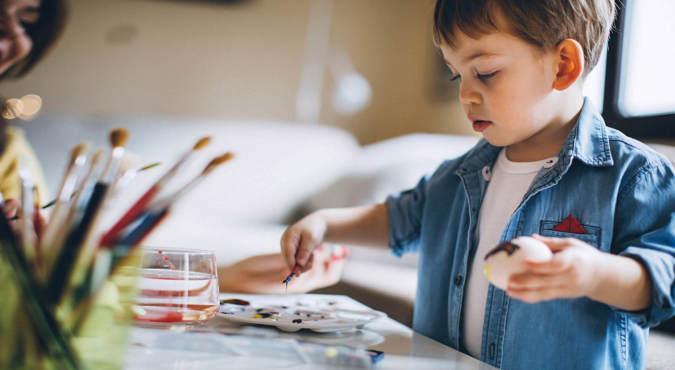 Trabalhos manuais para crianças