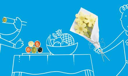 Receitas com frutas ideais para uma festa infantil