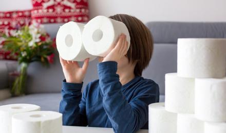 Como é feito o papel higiénico?