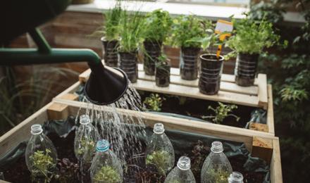 O que significa 'reduzir, reutilizar e reciclar'?